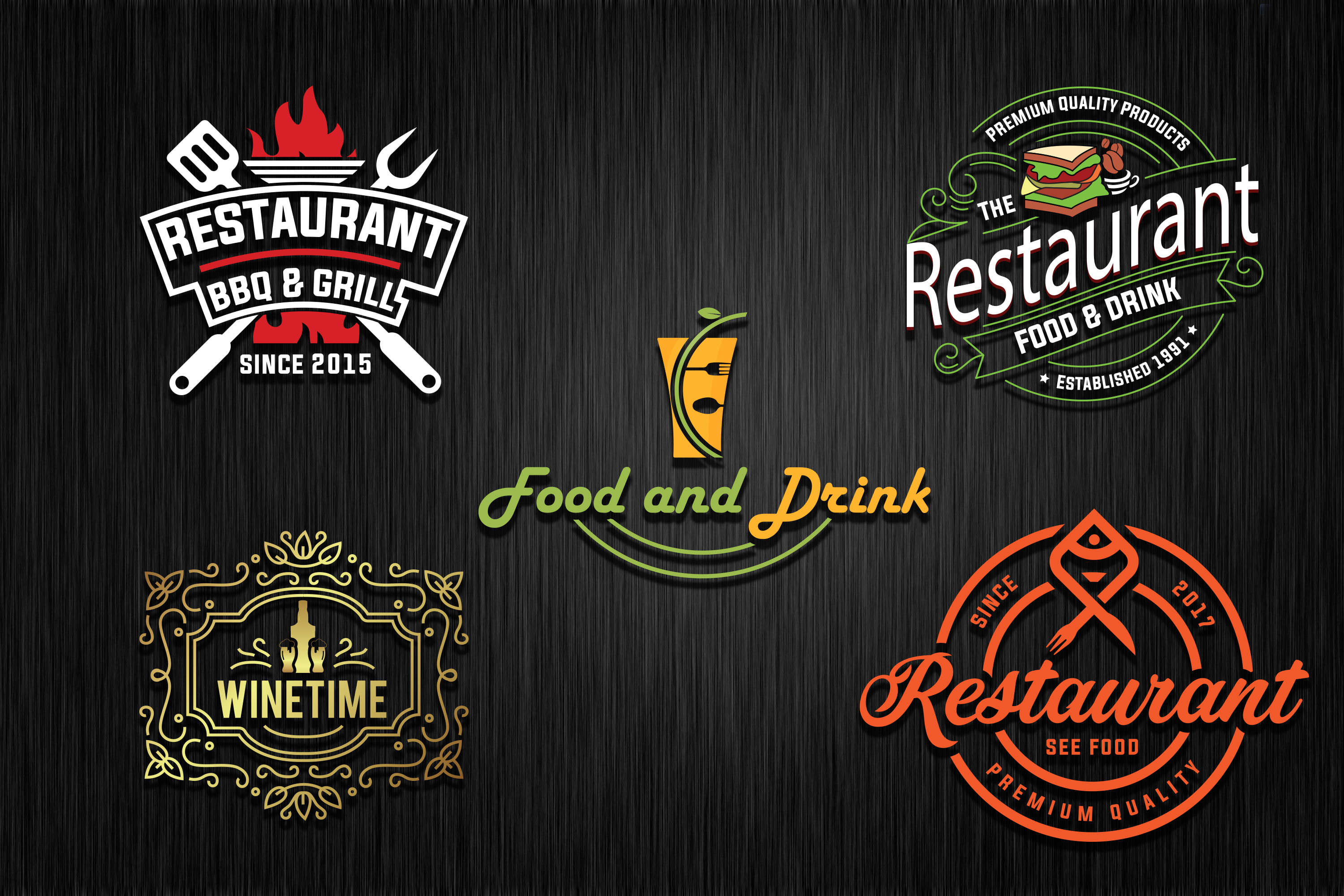 Design Bbq Food Grill Bar And Restaurant Logo In 24 Hr By Alvin Joseph