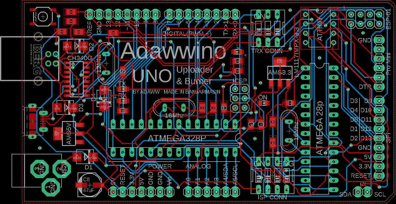 Design Your Pcb Using Eagle Software By Adawwfta