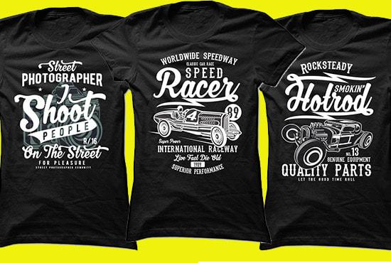 vintage t shirt design