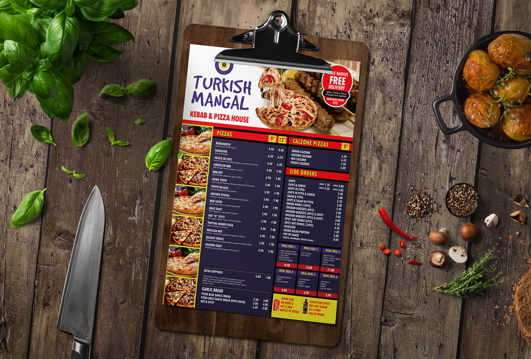 Do Modern Restaurant Menu And Food Menu Design By Eshad222