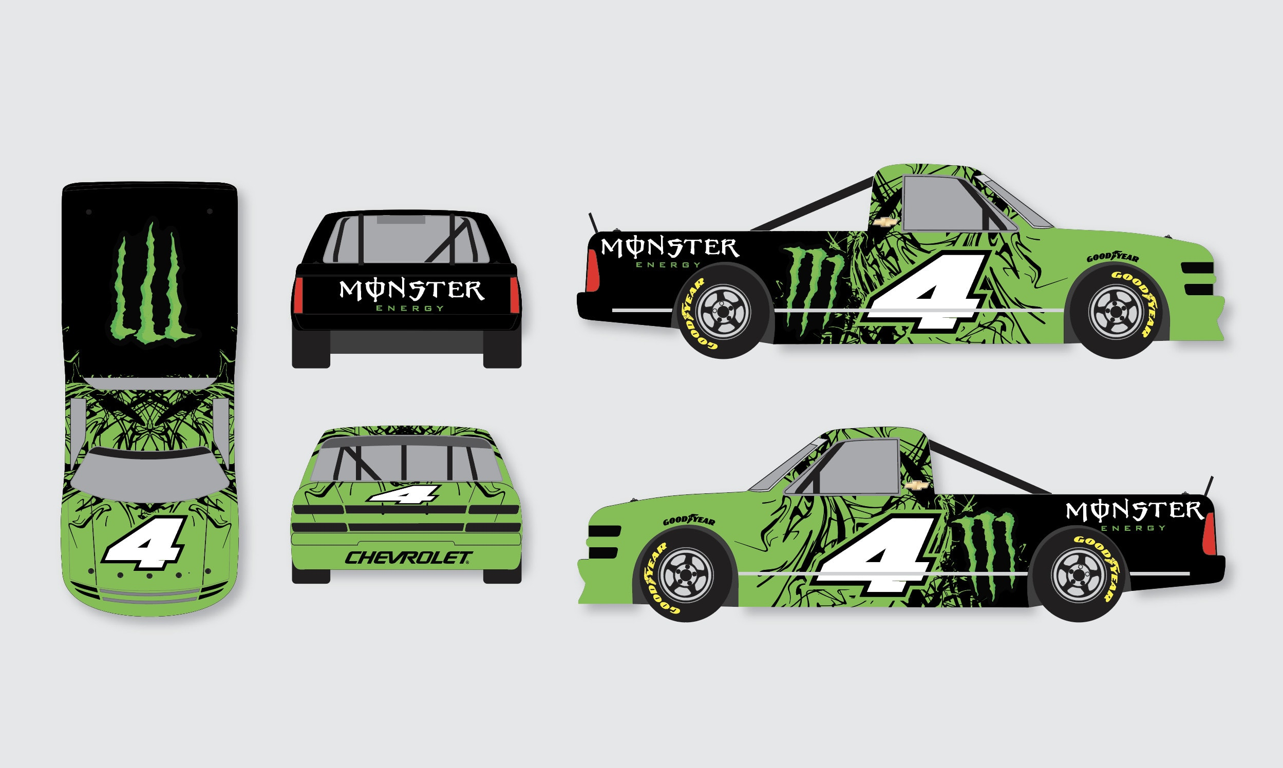 Design A Livery For Race Car Or Commercial Vehicle By Ollyeveleigh