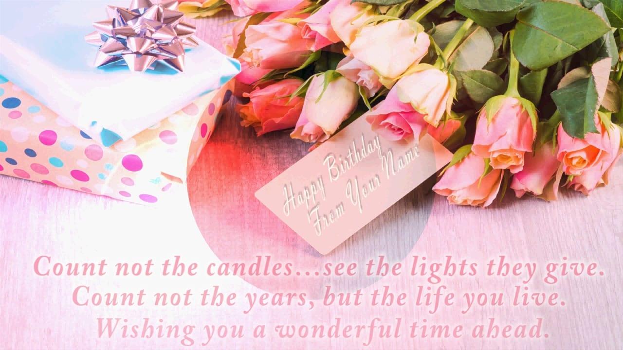 I Will Make 2 Birthdays And 1 Romantic Video Greetings
