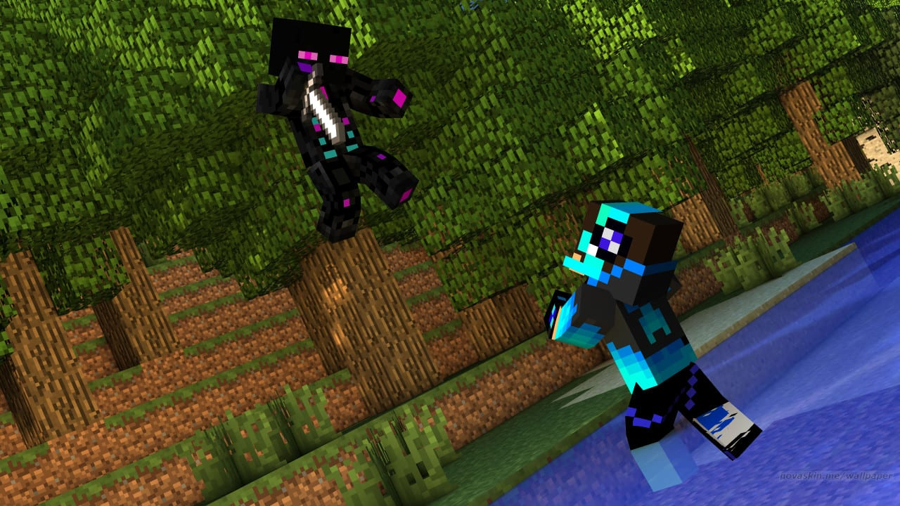Create A Hd Minecraft Wallpaper With Your Skin By Ferdinandoconte