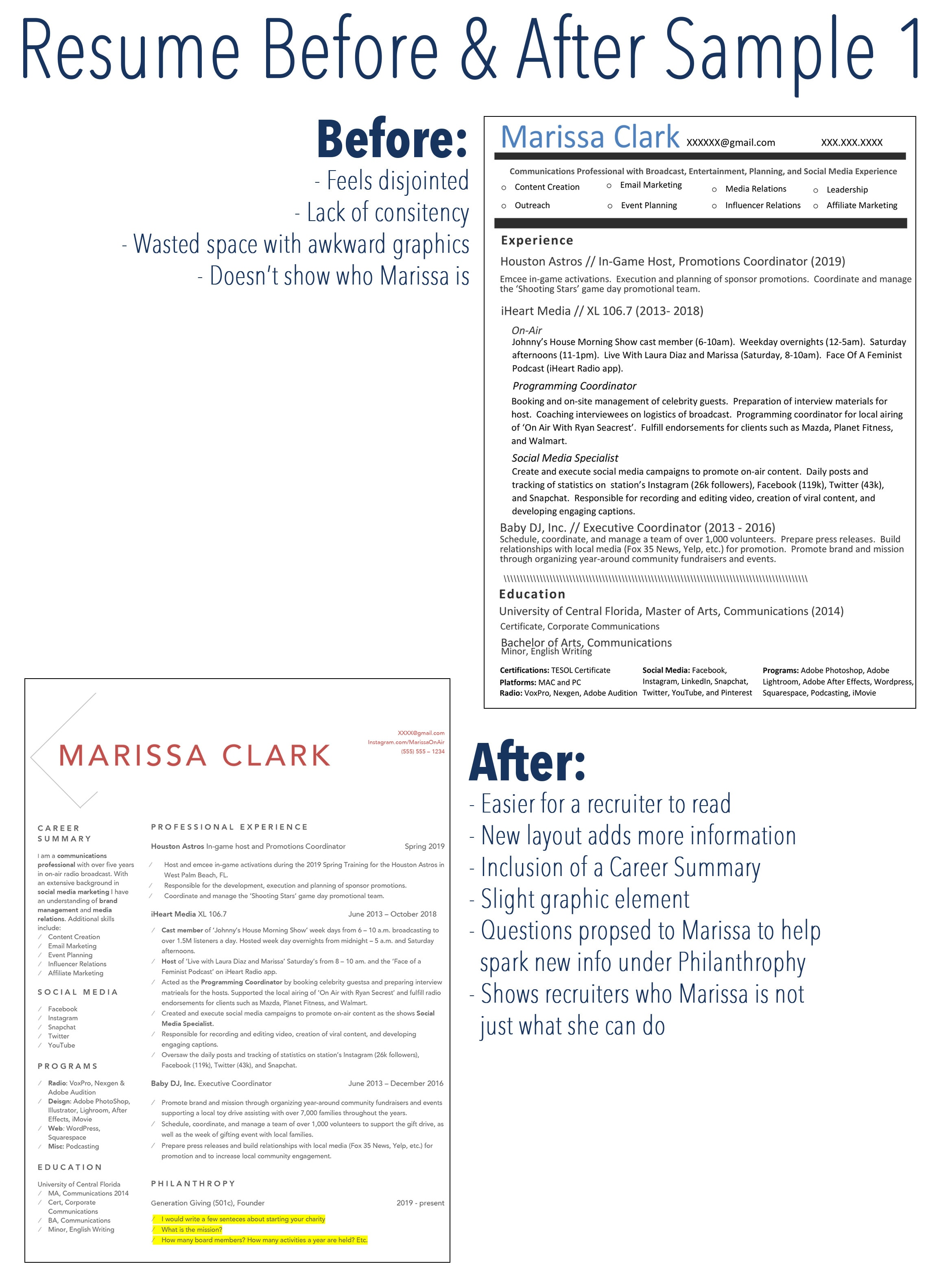 Revamp Your Resume To Help You Noticed And Hired