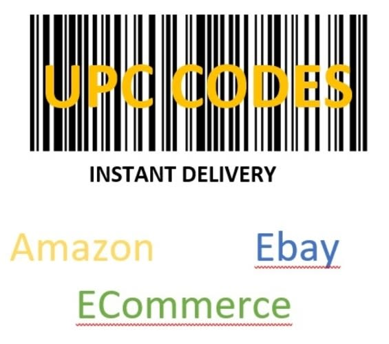 Provide 1000 Upc Codes For Any Ecommerce Platform By Jesuslovemary