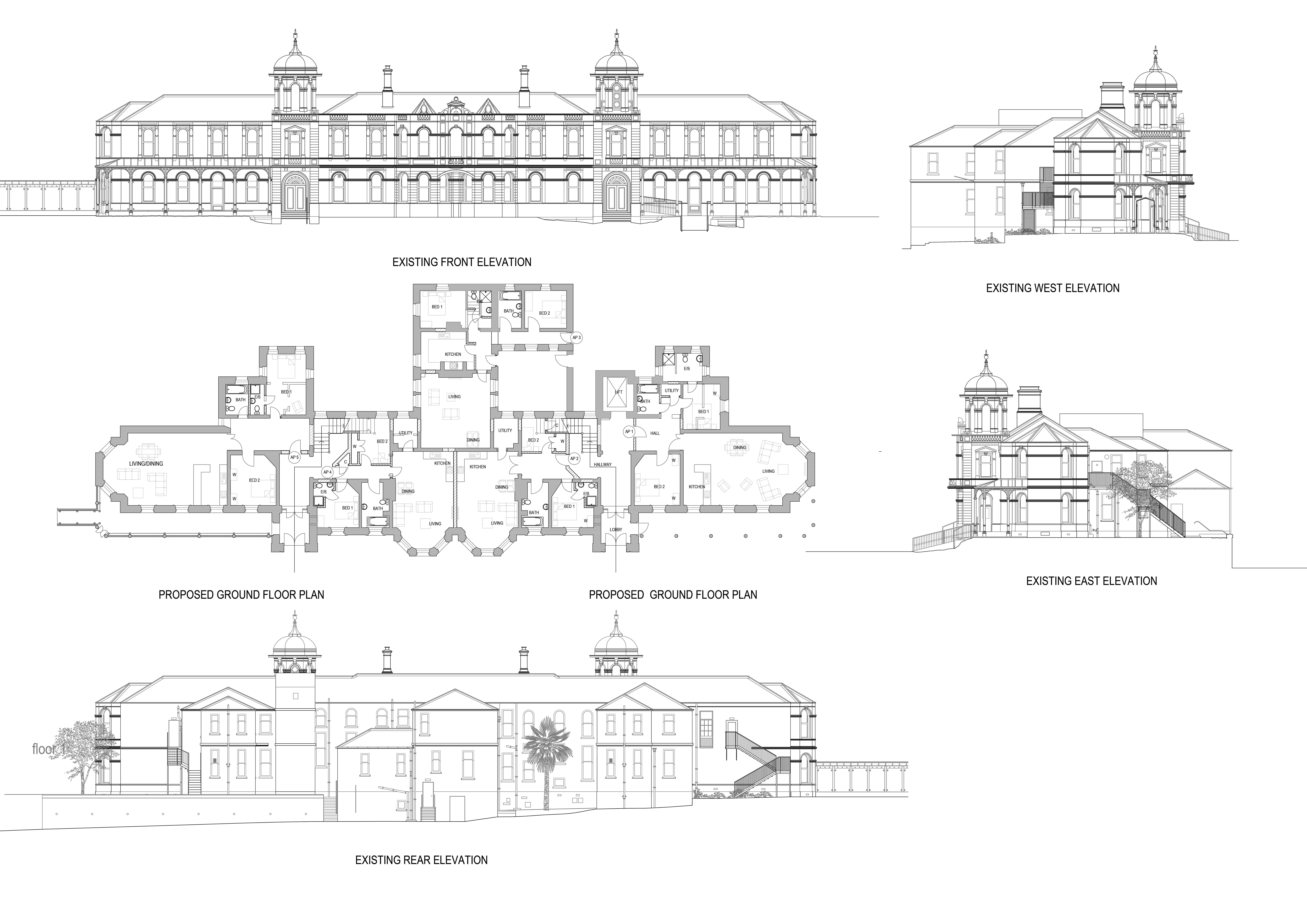 Do floor plans architectural services