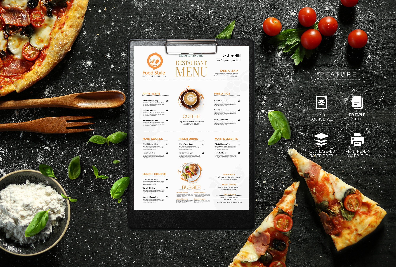 Do Modern Restaurant Menu Design By Suprovat10