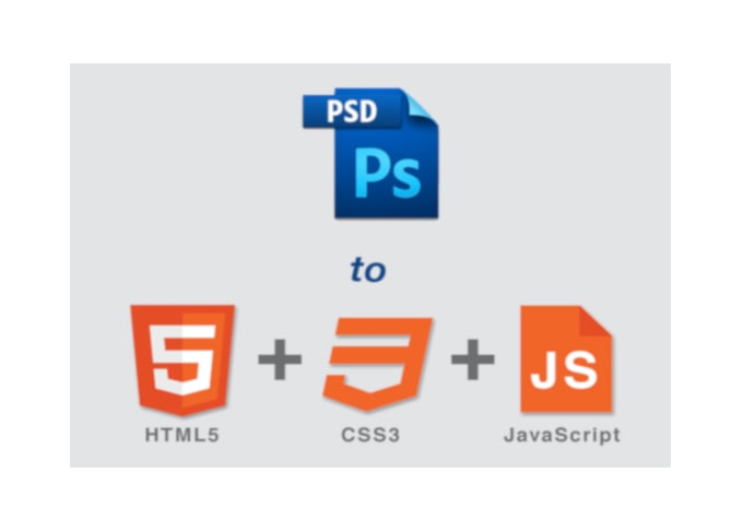 Convert Your Psd Or Pdf File Into Html Css Code By Eduardmakabenta