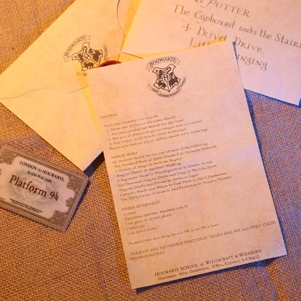 Create Your Harry Potter Hogwarts Acceptance Letter By Tcoup86