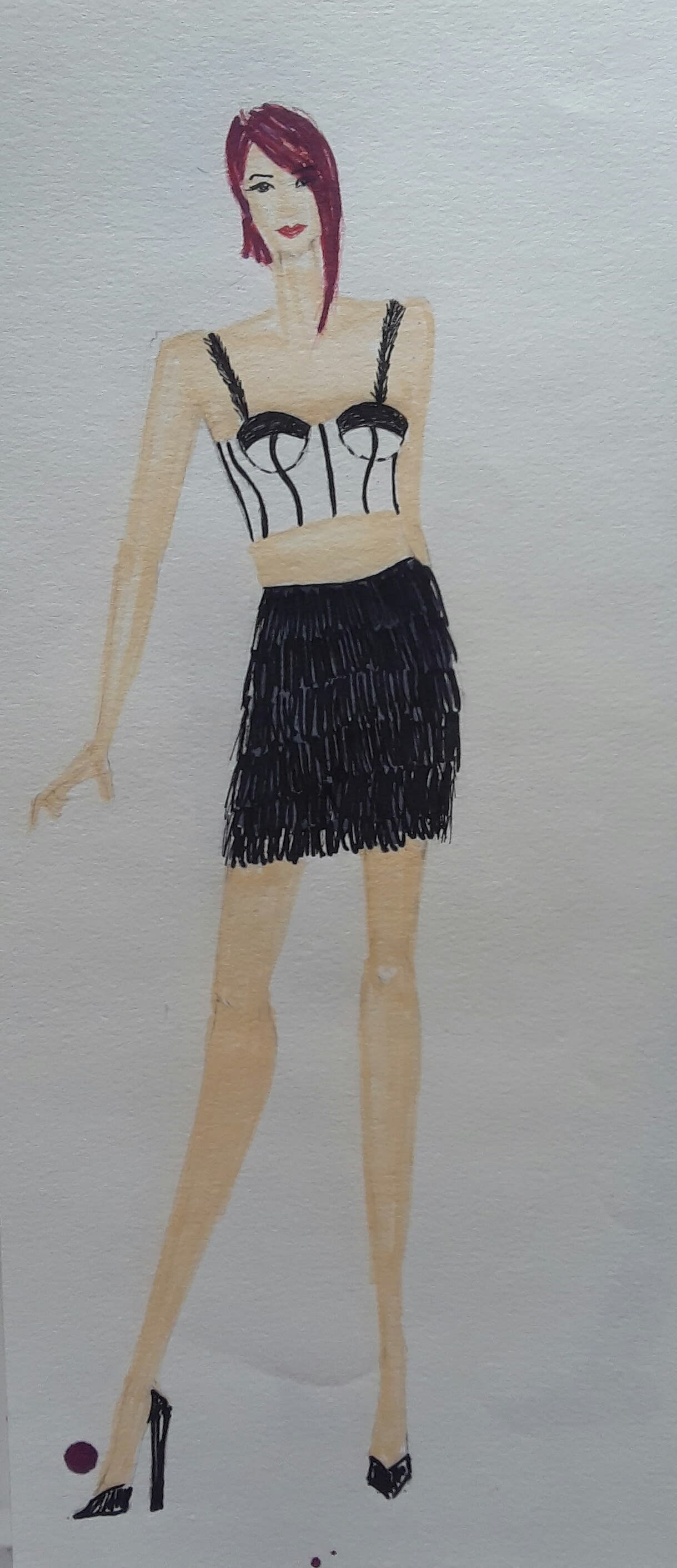 Make Fashion Designing Sketches As Per Requirement By Poojahazariwala