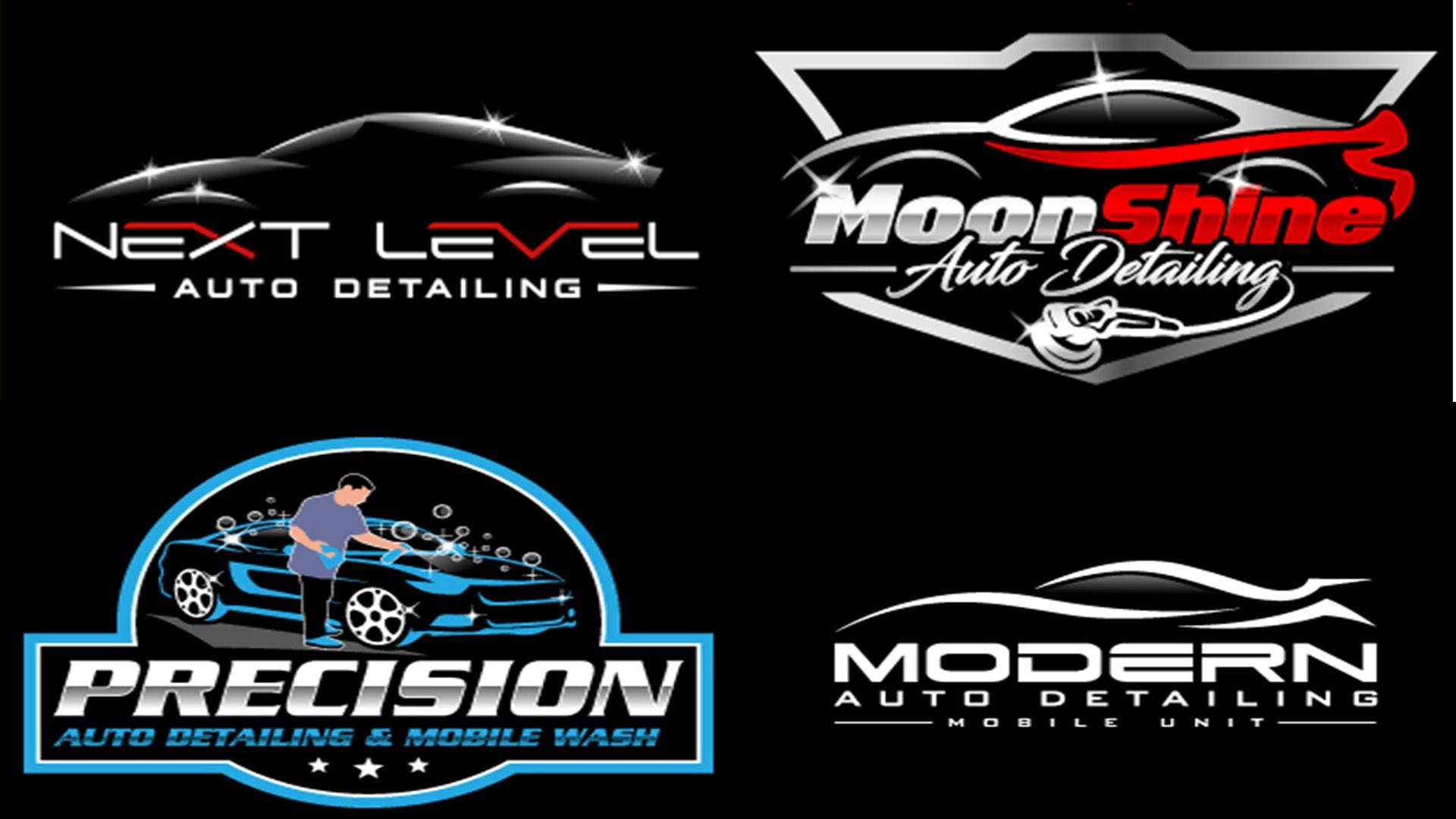 Do Automotive Auto Detailing And Car Wash Logo Design By Brandzstudio