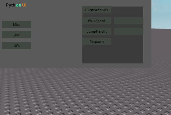 Roblox Copy Game Gui Im Willling To Make A Roblox Exploiting Gui For You By Grenade351