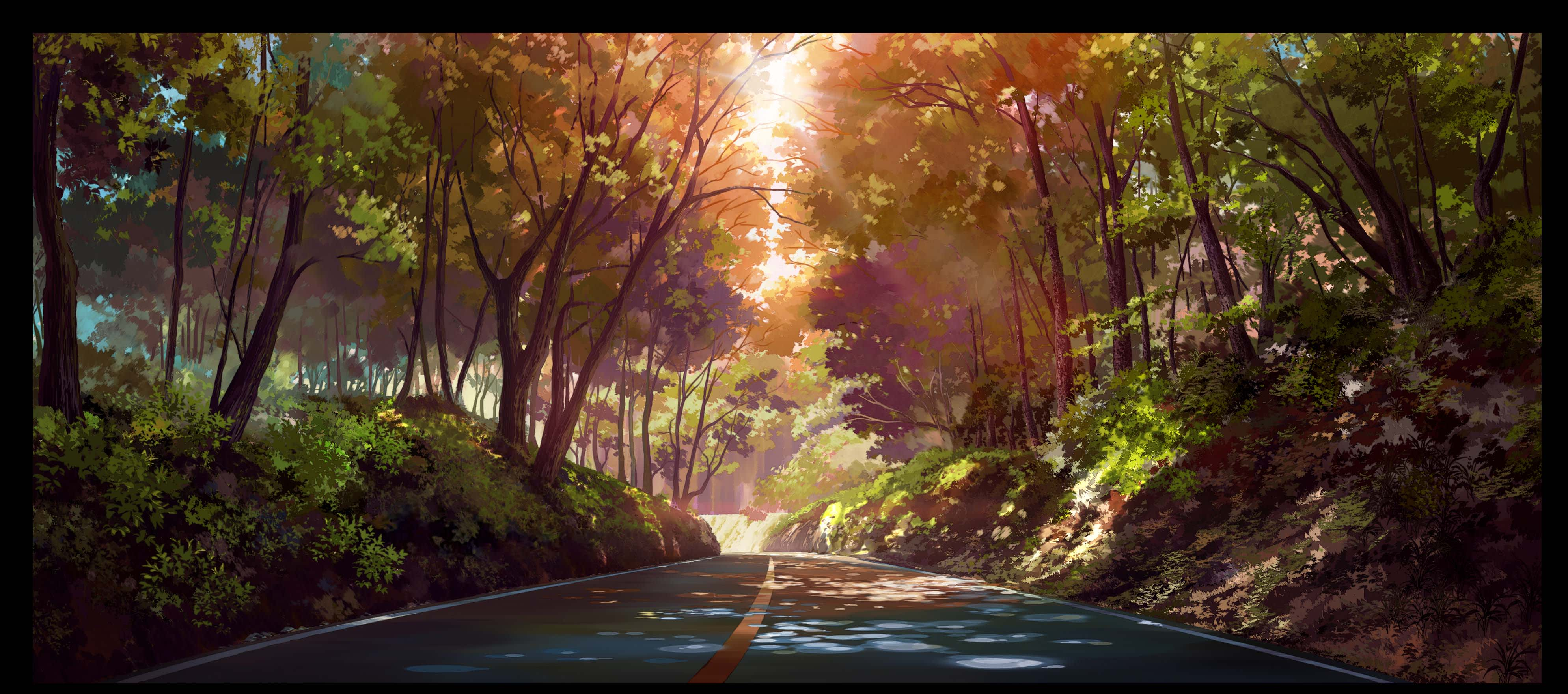 Draw Anime Background Anything Style By Myphuocanime Fiverr