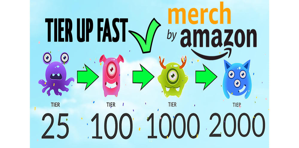 Help You To Tier Up Quickly In Merch By Amazon By Korom42