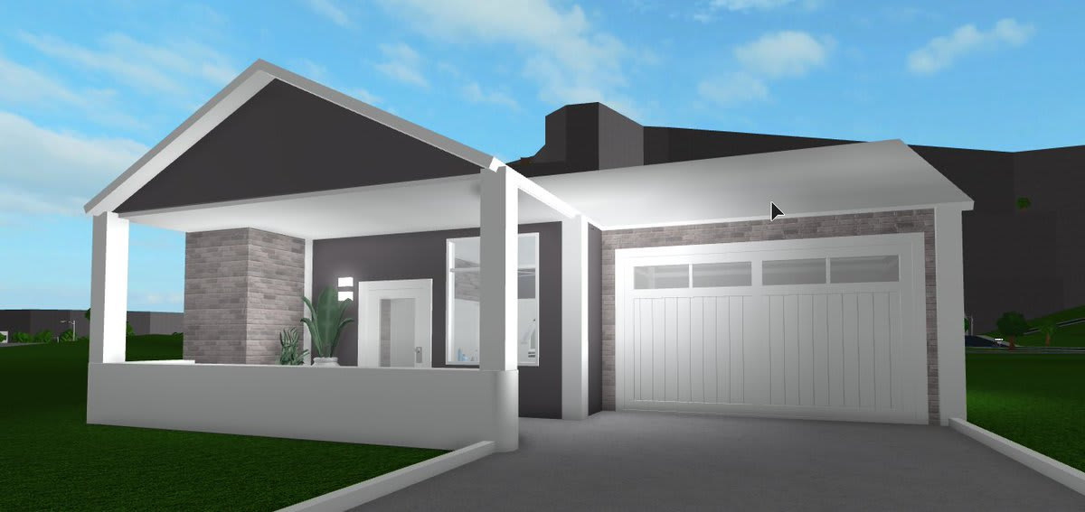 Roblox Bloxburg One Story House Build Anything As Asked On Roblox Bloxburg By Trixie Palace