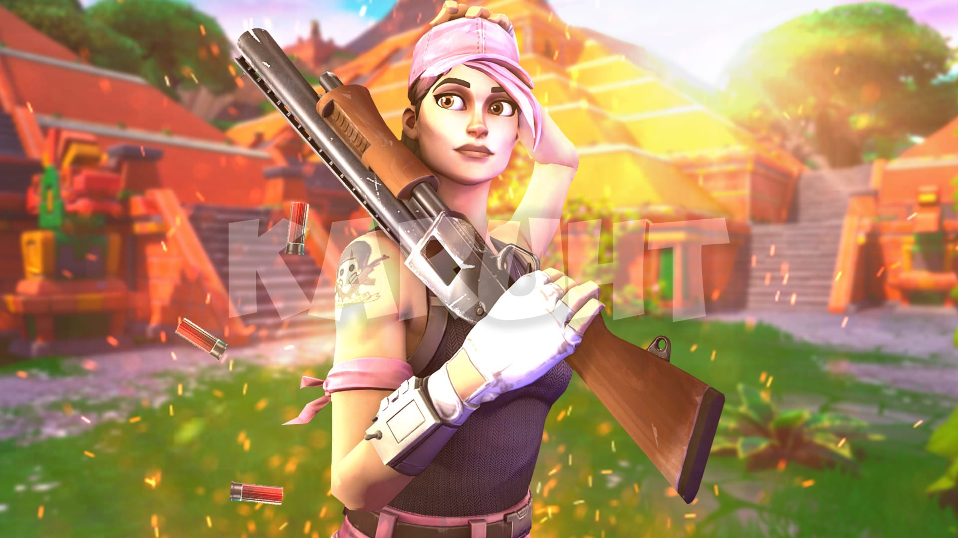 Create An Amazing 3d Fortnite Thumbnail By Karuht