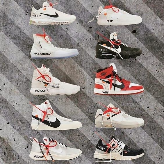Photoshop off white tags on your shoes