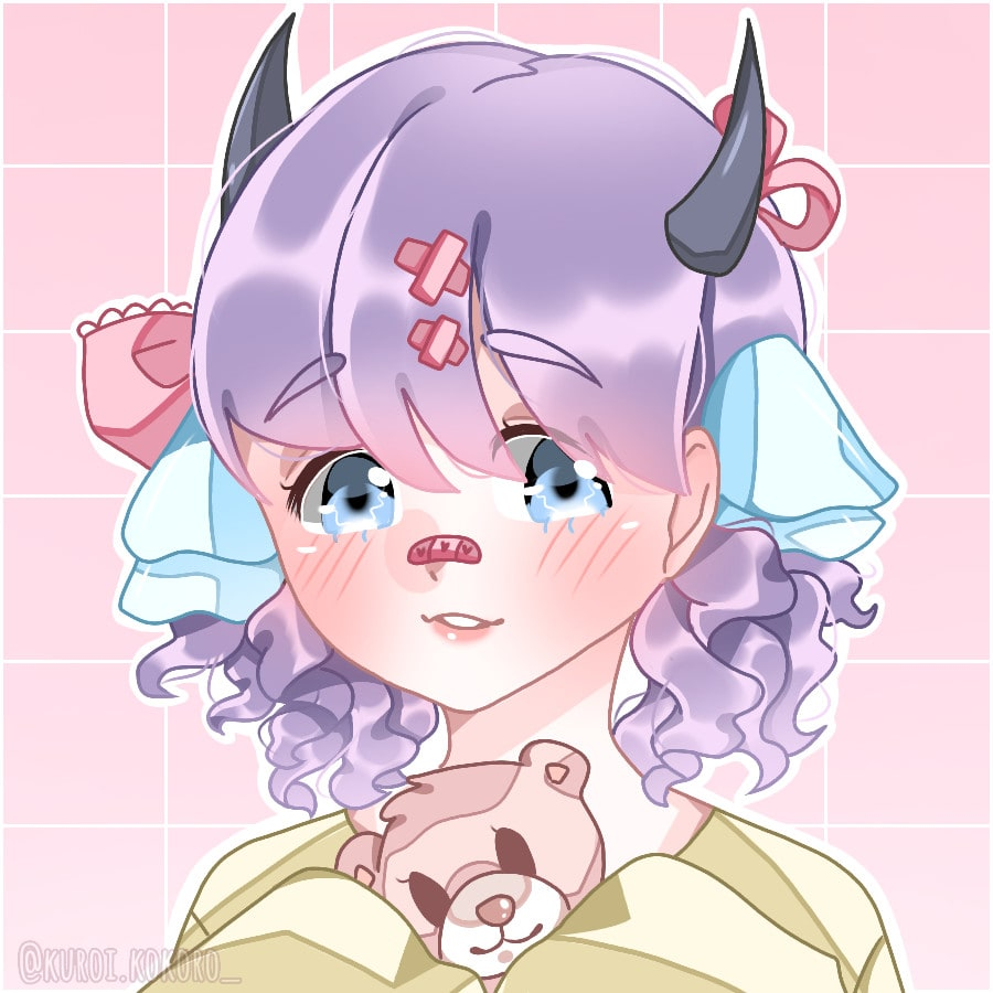 Draw A Cute Anime Girl For You By Achaella