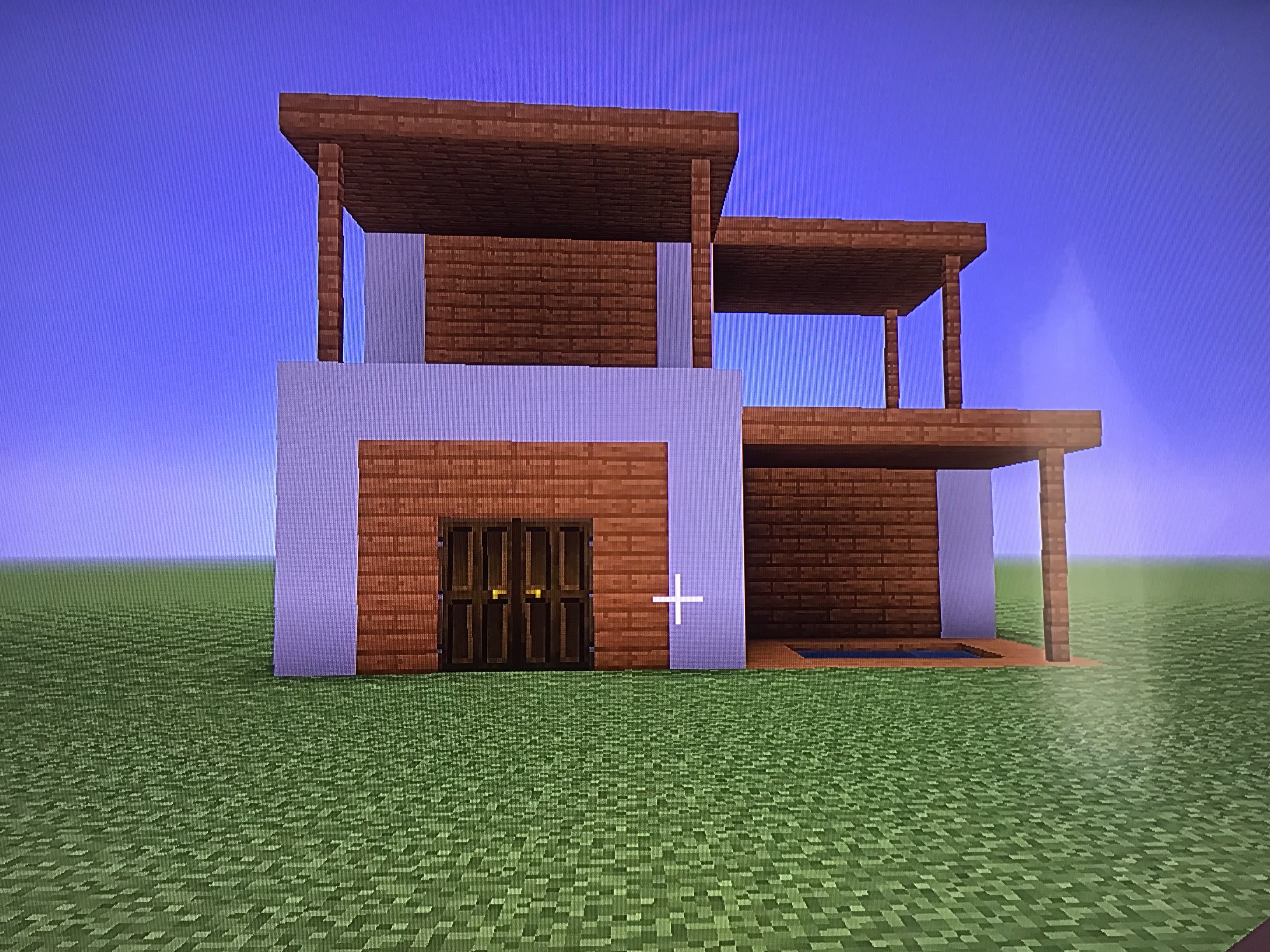 build you a minecraft house on ps8