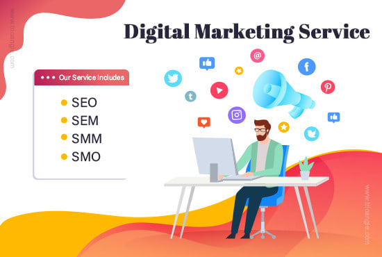 Boost your website ranking with digital marketing services by Trio_tech |  Fiverr