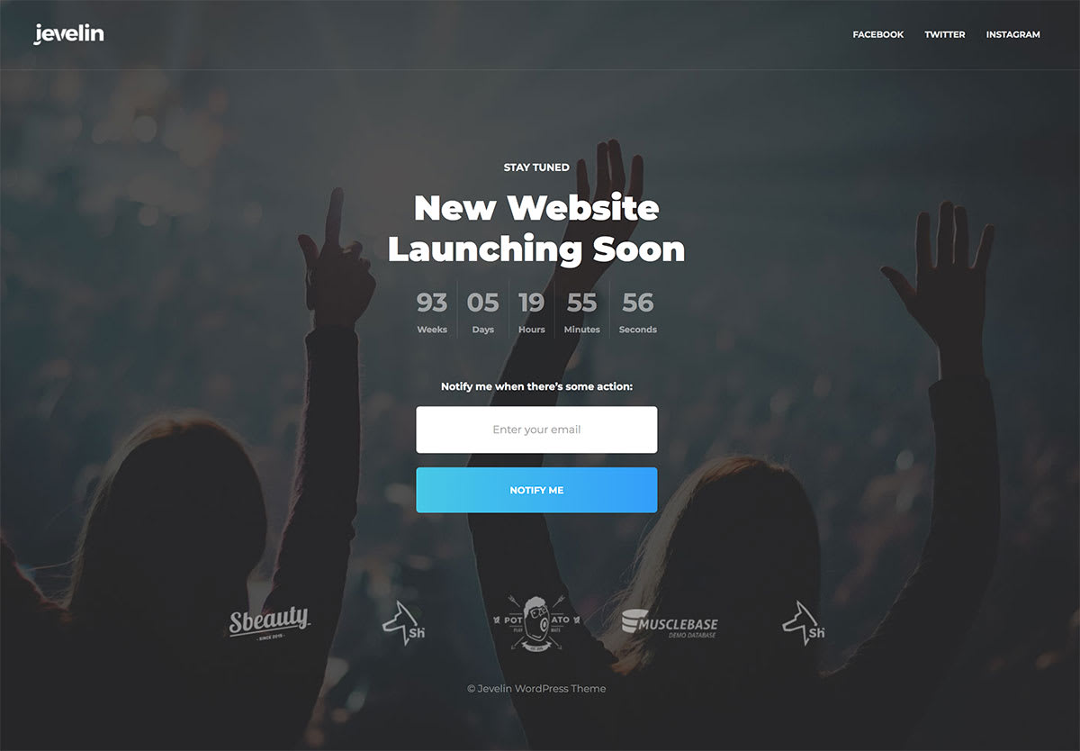 Build A Responsive Coming Soon Under Construction Page By Ashraful081