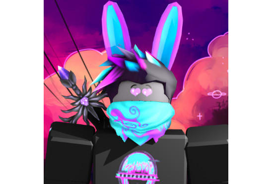 Make You An Awesome Roblox Profile Picture Using Gfx In Photoshop