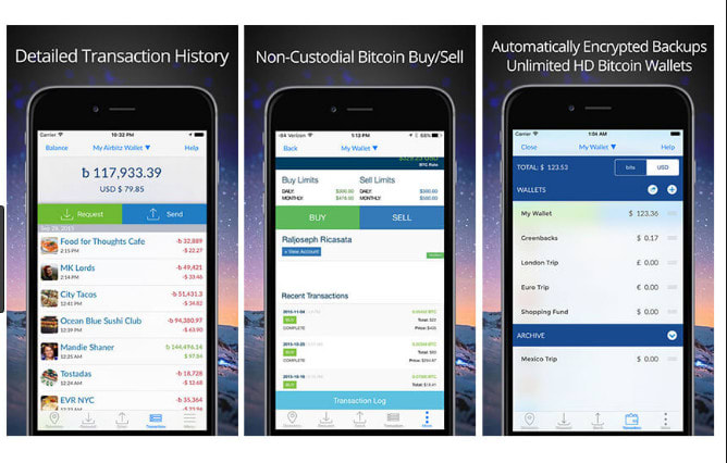 cryptocurrency wallet application