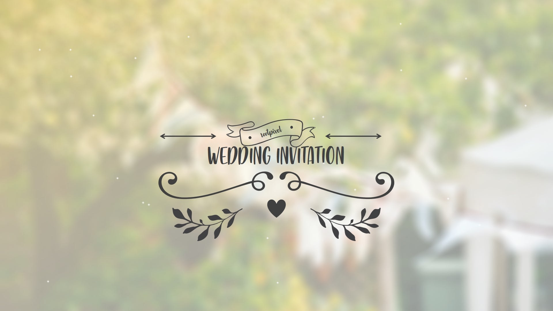Do wedding invitation video within 48 hour by Chulrachul