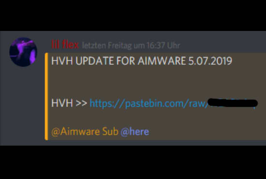 Give You Csgo Cheat Configs For Aimware By Veroooofficial