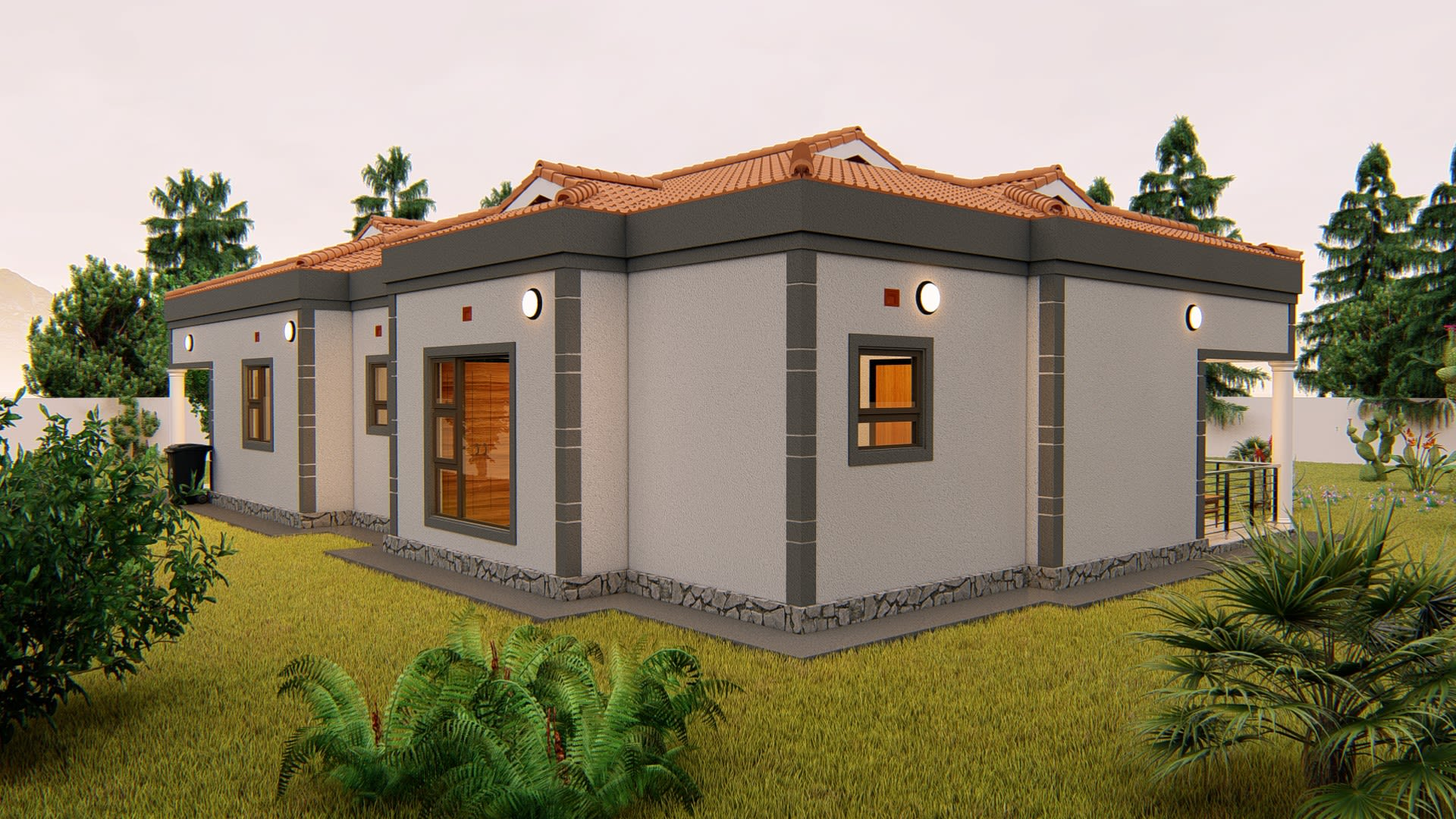 House plans and exterior design by Shakeszikodze