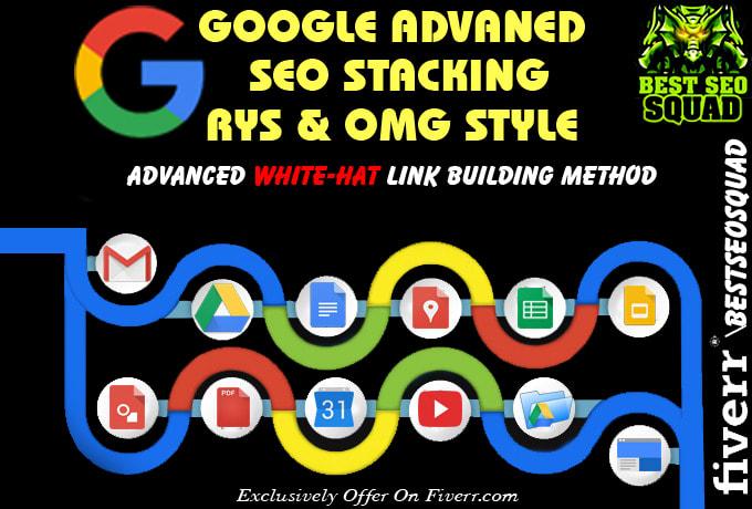 Advanced SEO Backlinks Google Entity Stacking Service