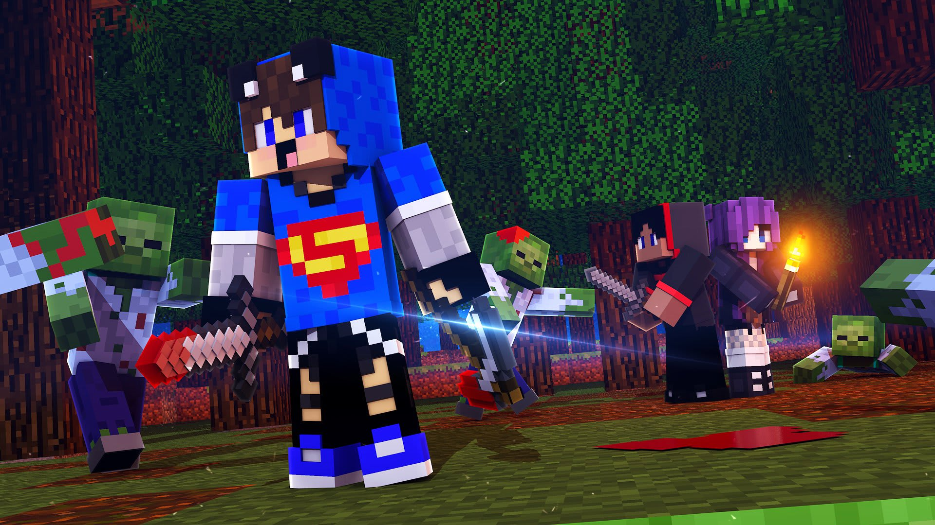 Create A Professional 3d Minecraft Thumbnail With Your Skin By Mrhidan