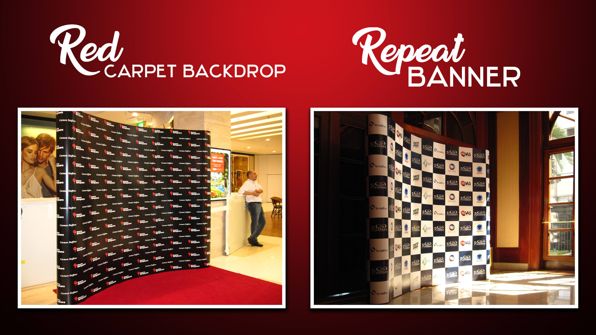 Do Printable Red Carpet Backdrop And Repeat Banner Design By Shammyriya