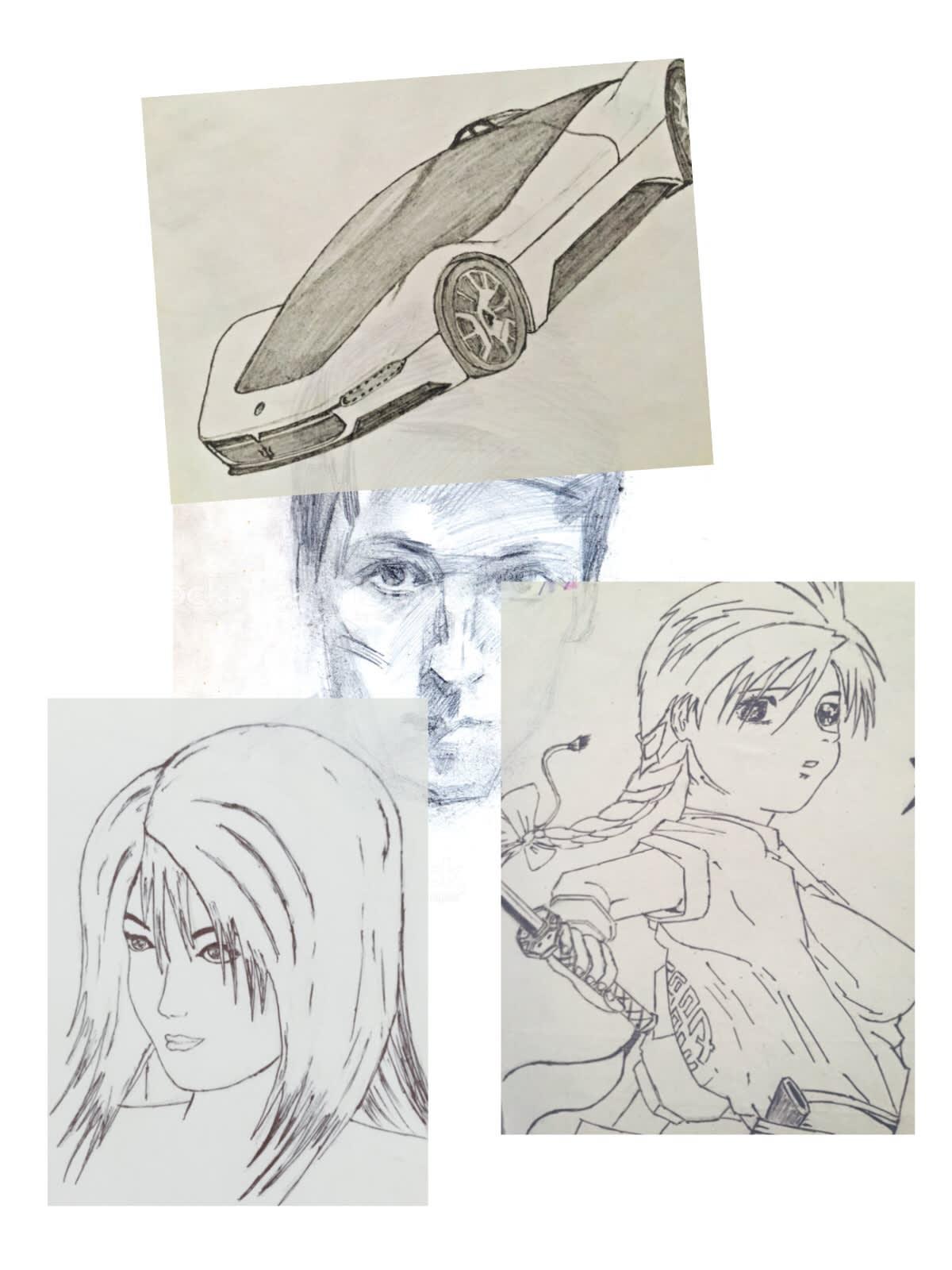 Draw Beautiful Pencil Sketches From Your Photos By Manojzaagara