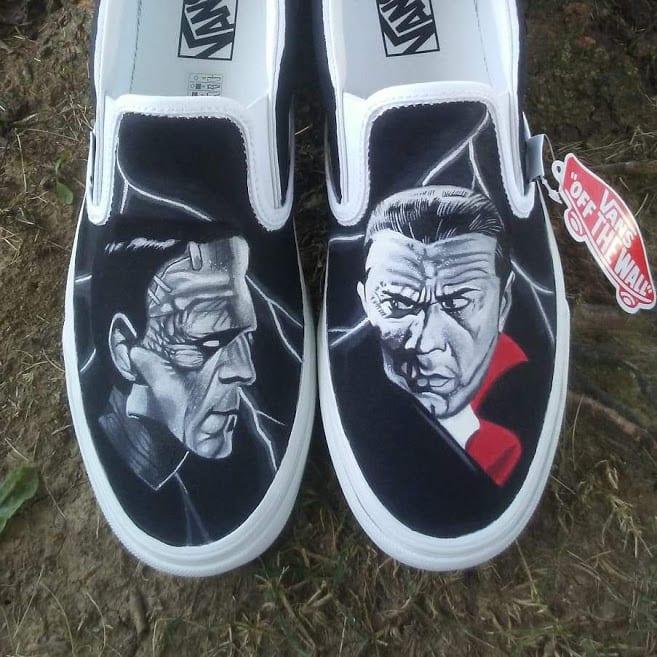 Buy \u003e custom painted vans shoes Limit