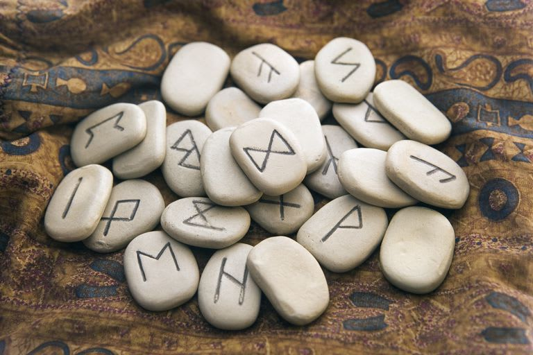 Read your destiny with norse magical runes by Sceaduwemage