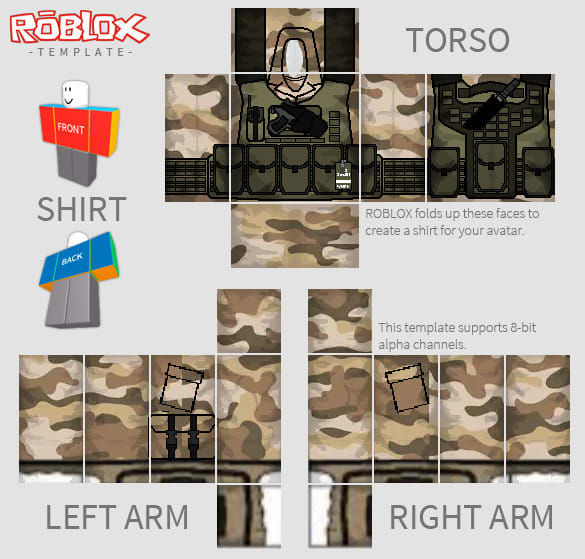 Roblox Army Outfit Make You A Roblox Clothing Outfit With No Watermark By No Dle