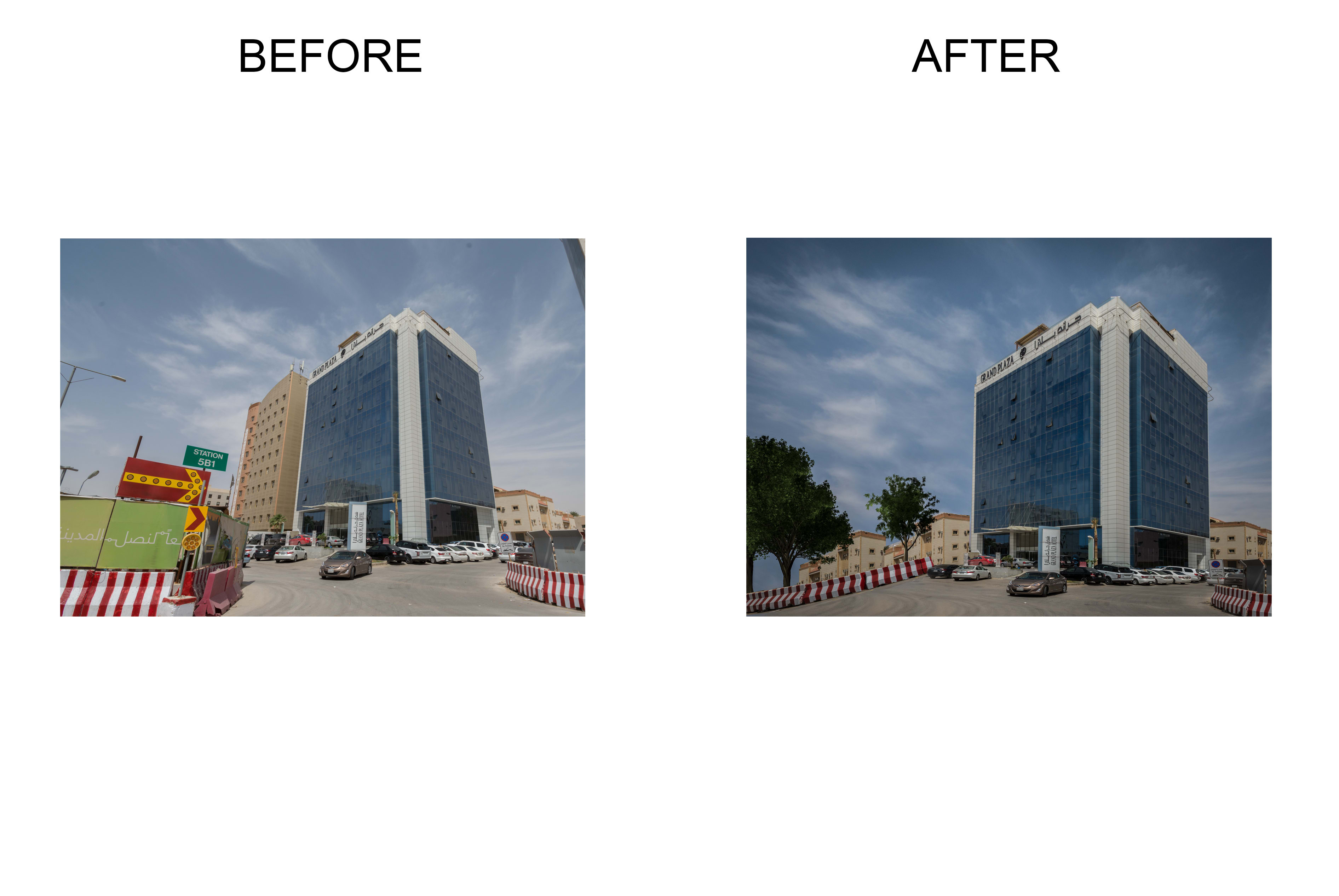Architecture Photo Retouching By Azzydoon