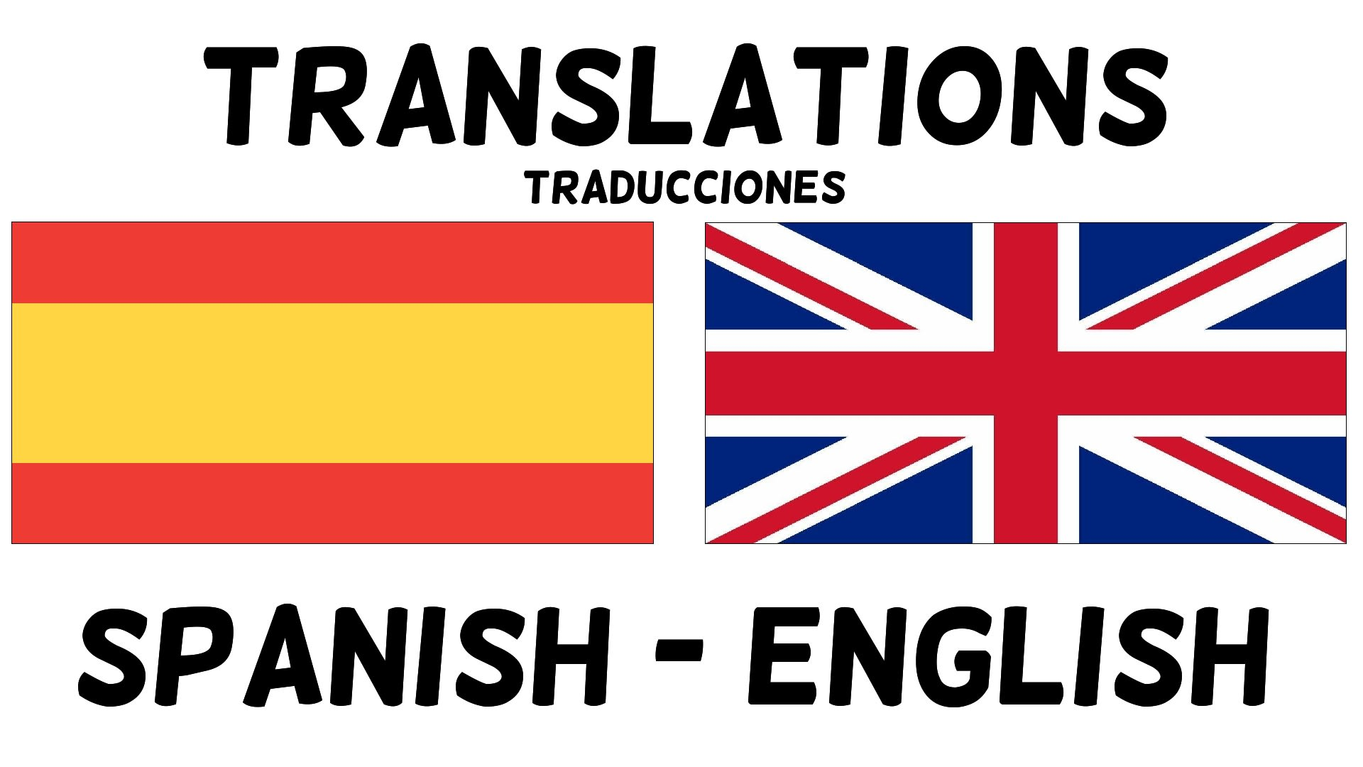 Translate english to spanish and vice versa by Mr_javi