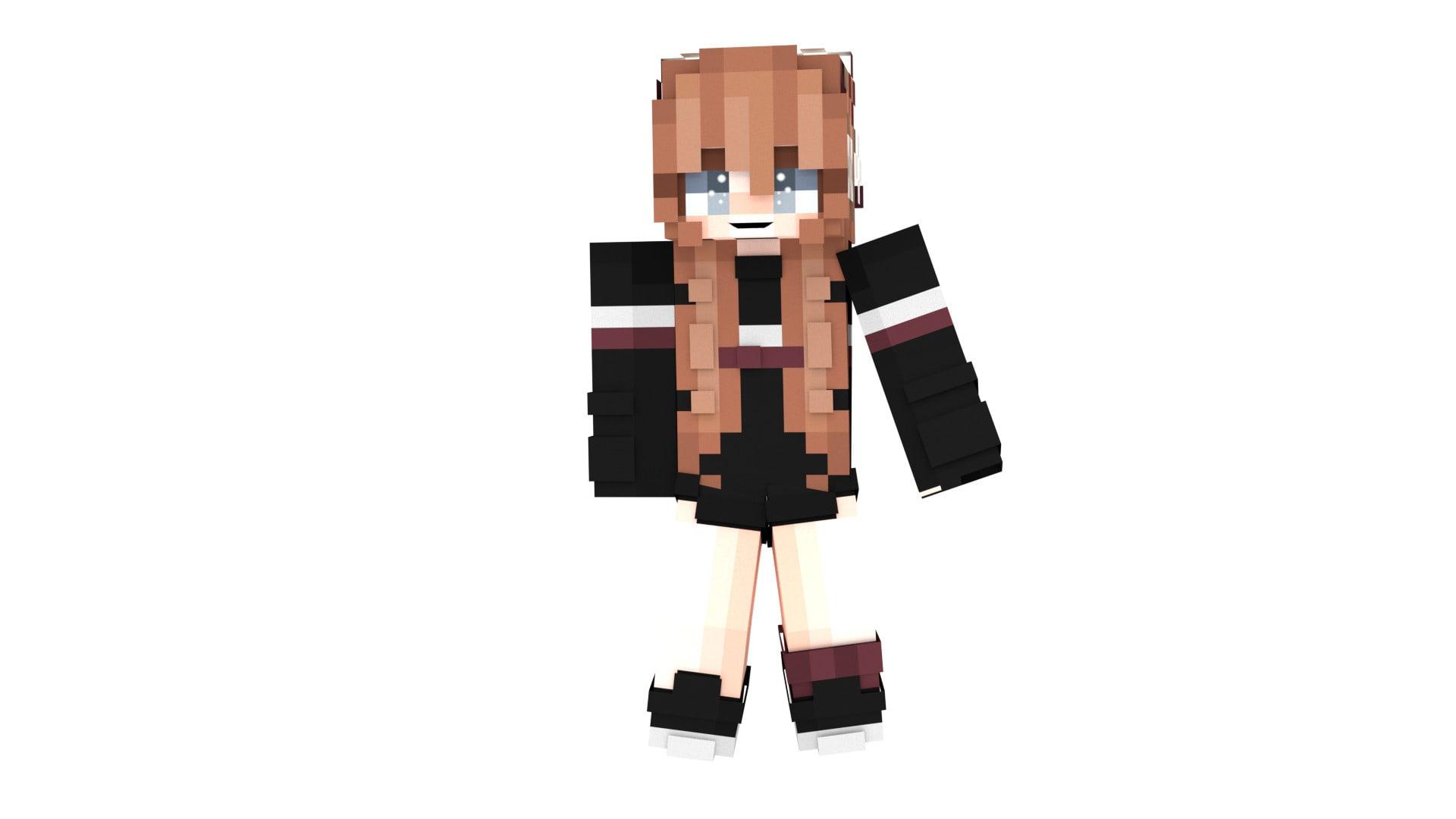 make you minecraft skin render