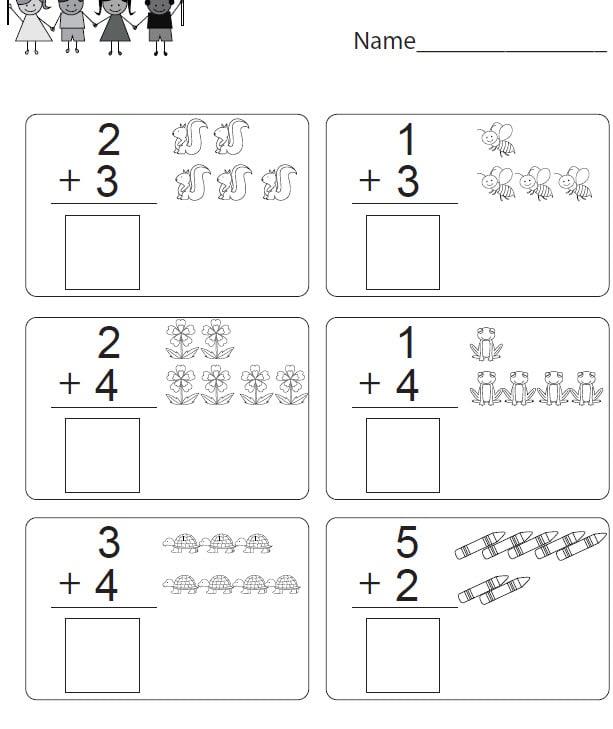 Design Fun Kindergarten Math Worksheets For You By Joe4freelance