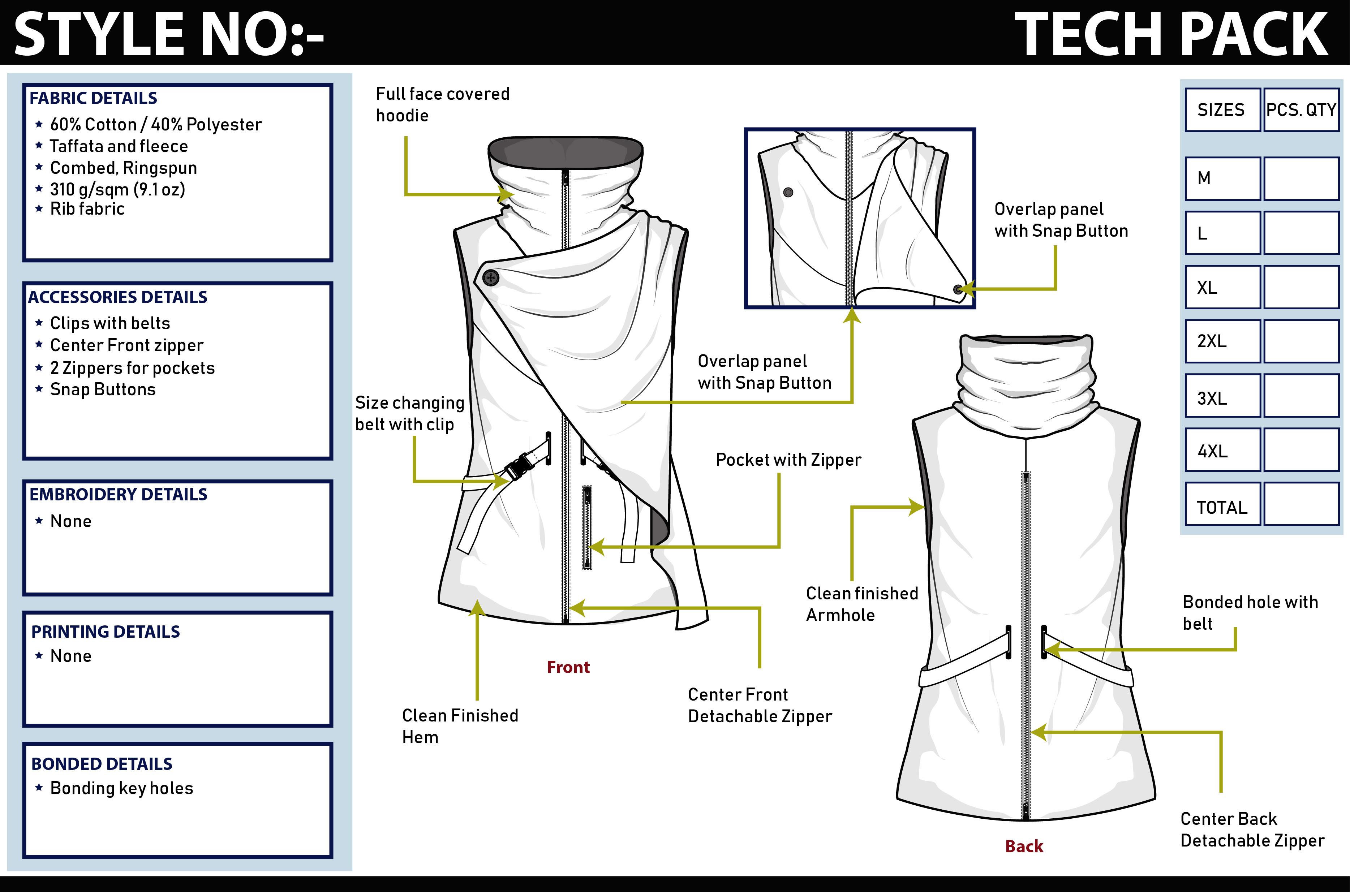 Technical Drawing Tech Packs Sketching And Designing By Ashibandara92