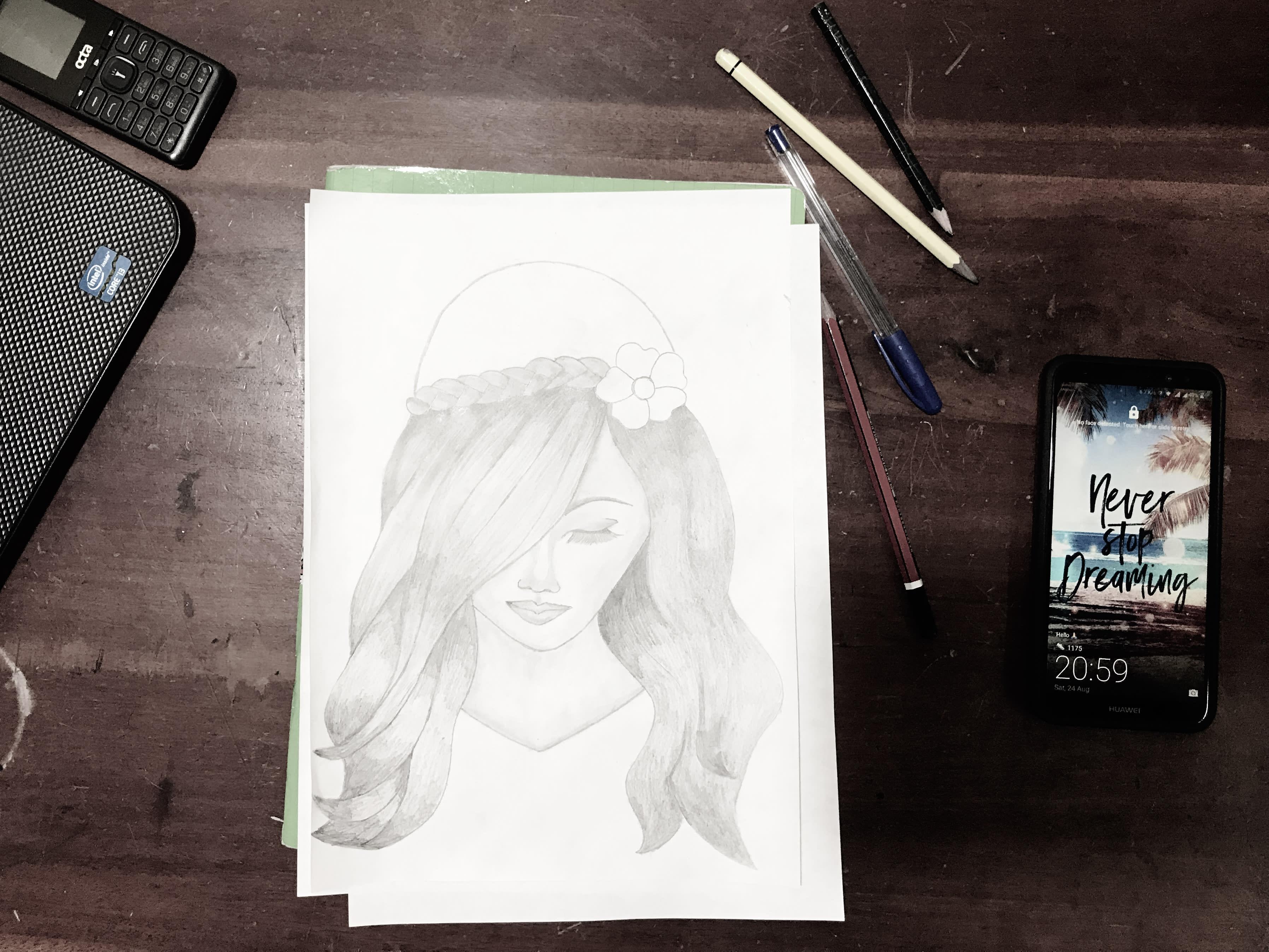 Draw A Pencil Sketch Pencil Painting Pencil Art By Dexter Genius