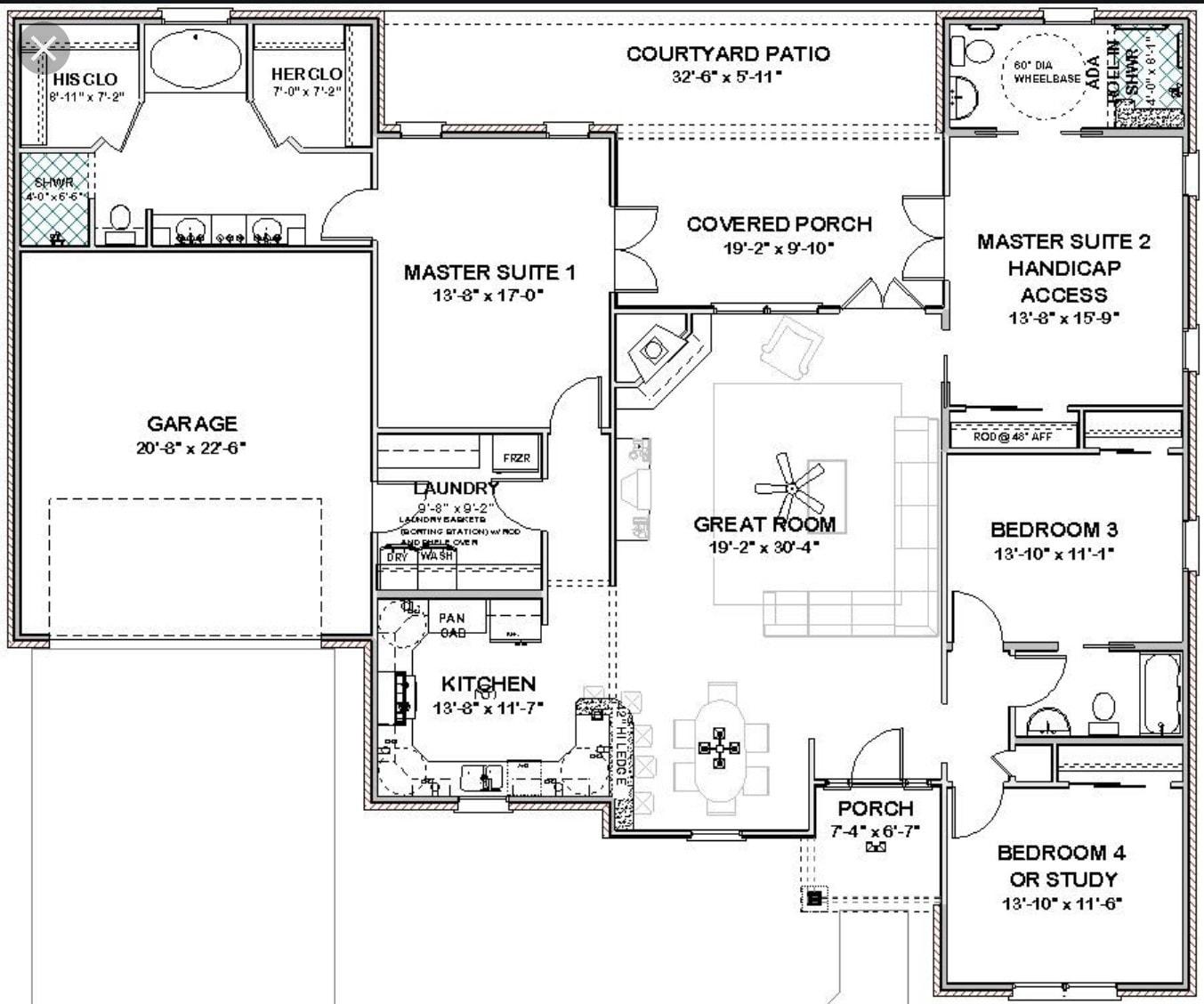 Design Your Architectural Floor Plan In Autocad By Jhoevtoribio Fiverr