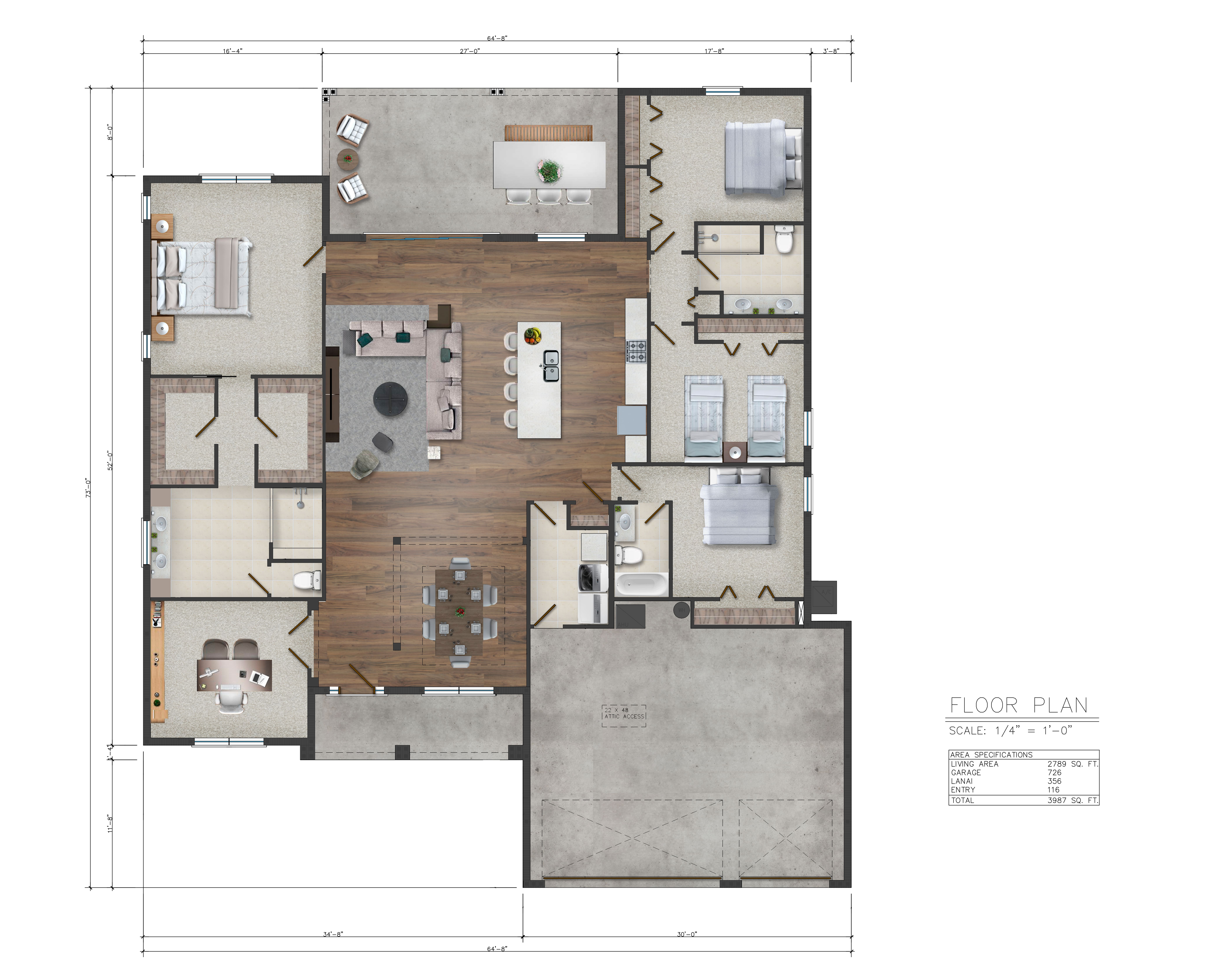Draw A Architectural Floor Plan For Your Airbnb Listing By Dhanipalacios