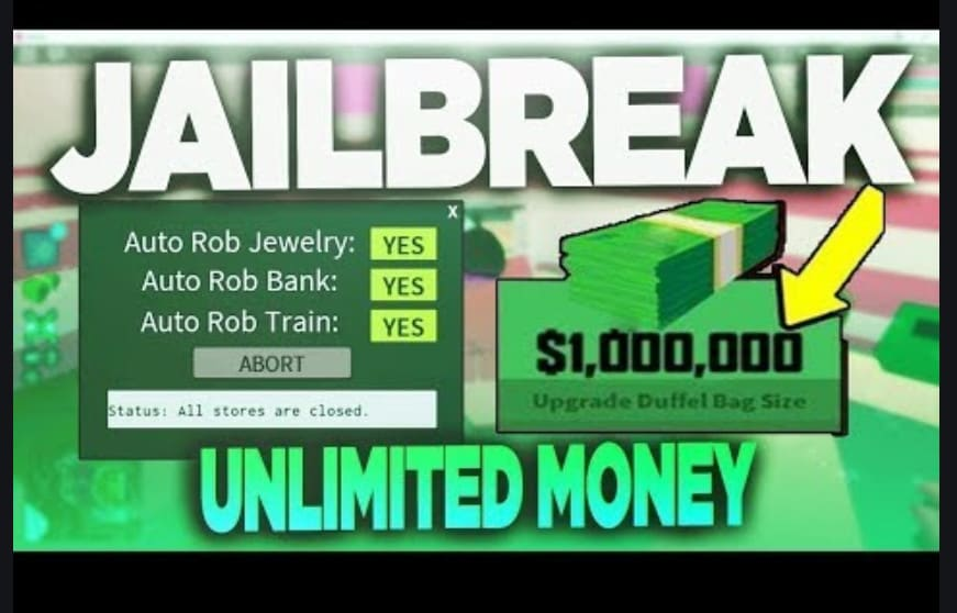 Get You Loads Of Money Really Fast On Roblox Jailbreak By Reverge