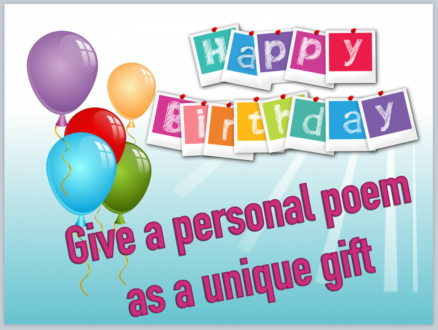 Write A Birthday Poem For A Loved One Colleague Or Friend By Ishirleycan