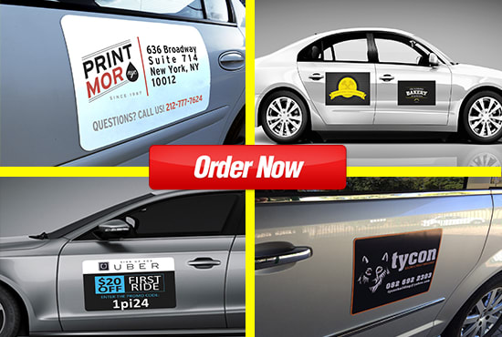 Design Magnets Signs For Cars Trucks And Van In 24 Hours By