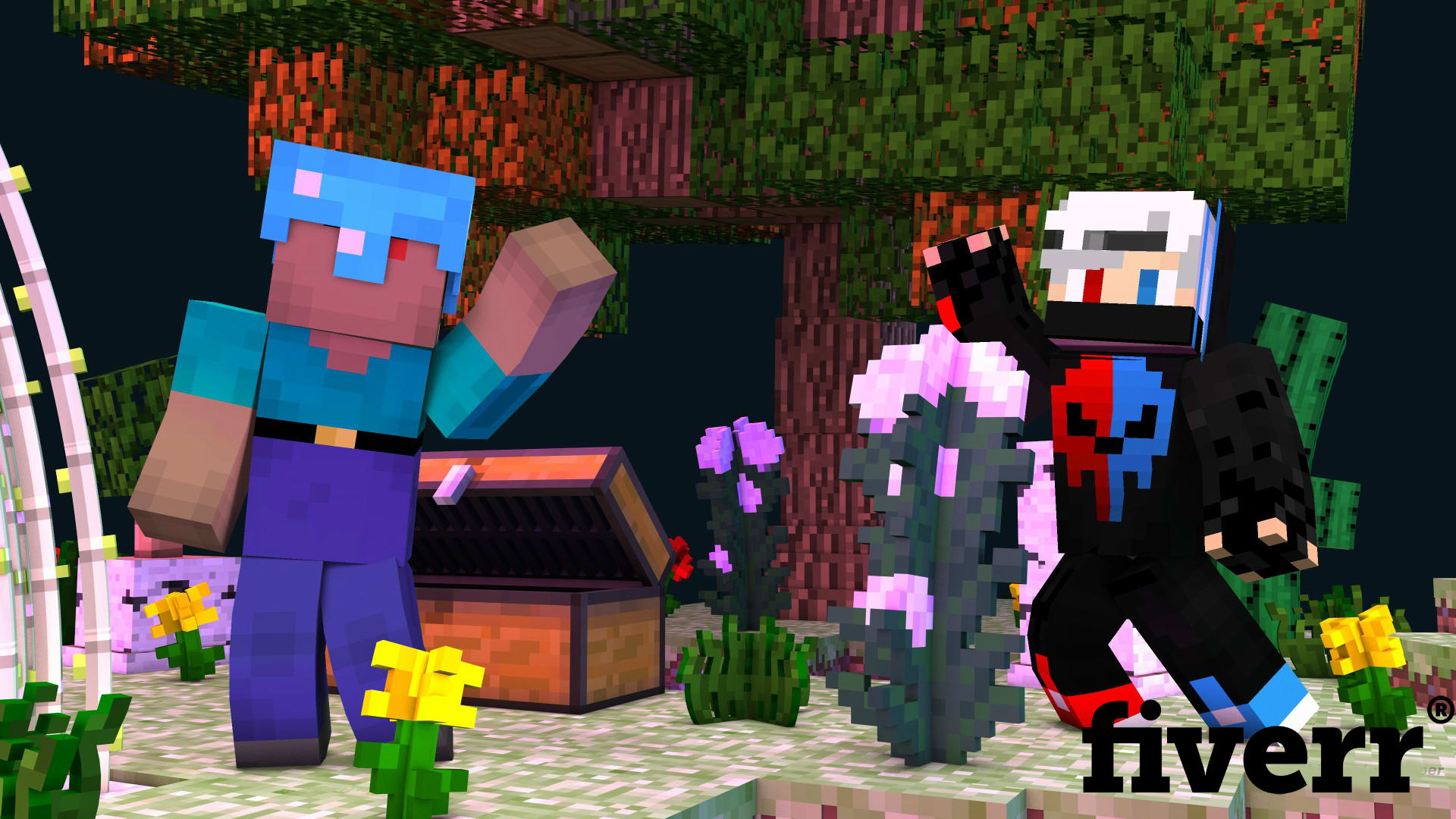 Create A Custom 4k Minecraft Thumbnail By Spilledketchup