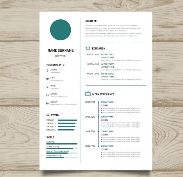 Create A Professional Cv For Work And Study In All Languages By
